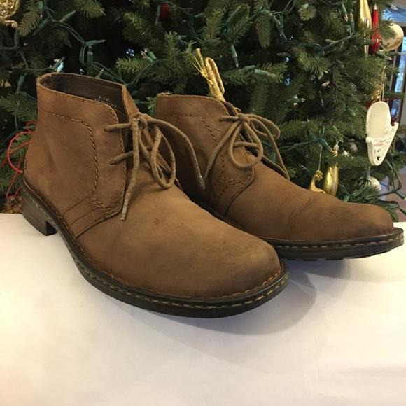0f86e2a6ed1 Born Men's Lace Up Boot Harrison Chestnut Size 8
